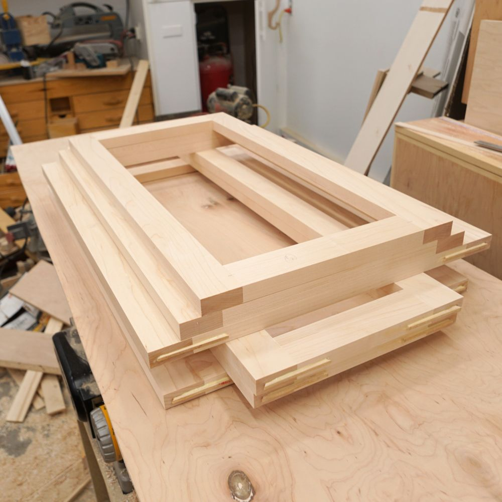 How To Make Frame And Panel Cabinet Doors Ibuildit