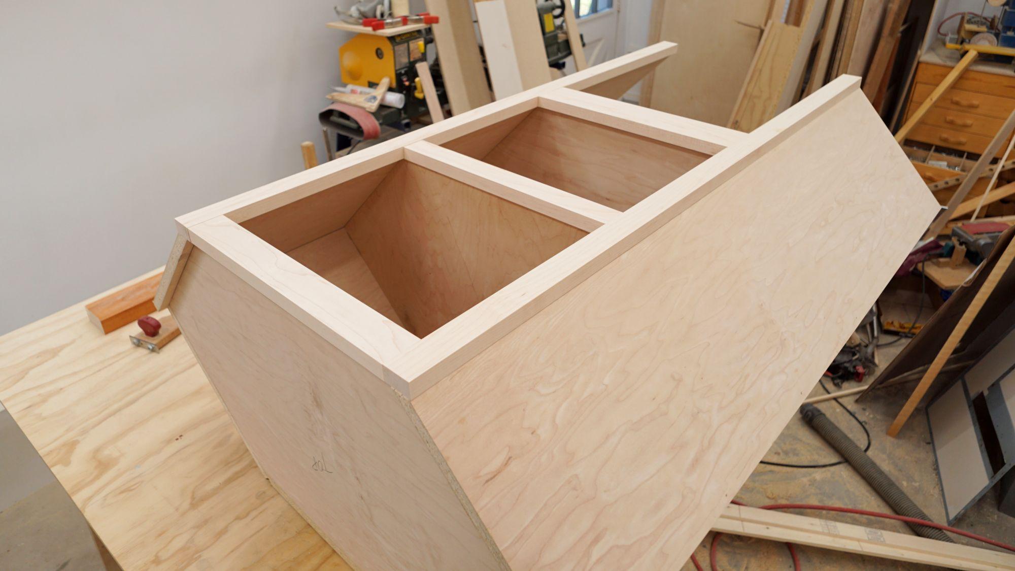 Building A Corner Cabinet For The Kitchen Ibuildit Ca