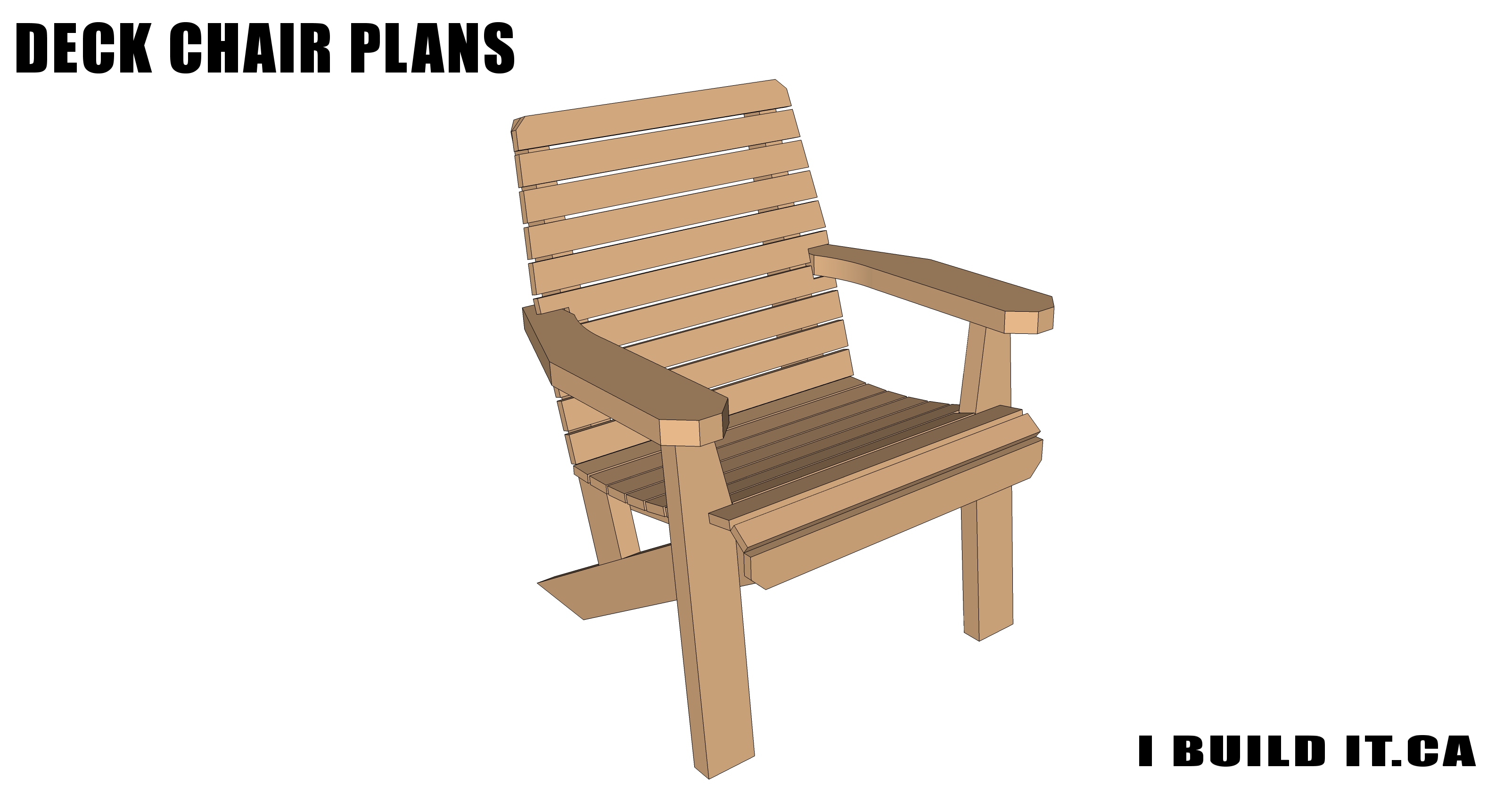 deck chair plans plans ibuildit ca
