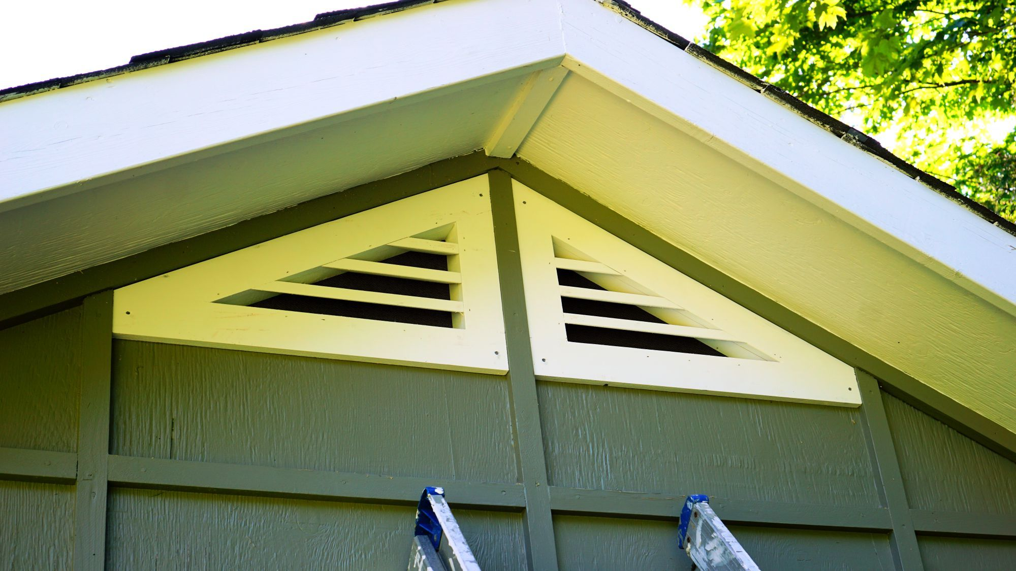How To Make Triangular Gable Vents Ibuildit Ca