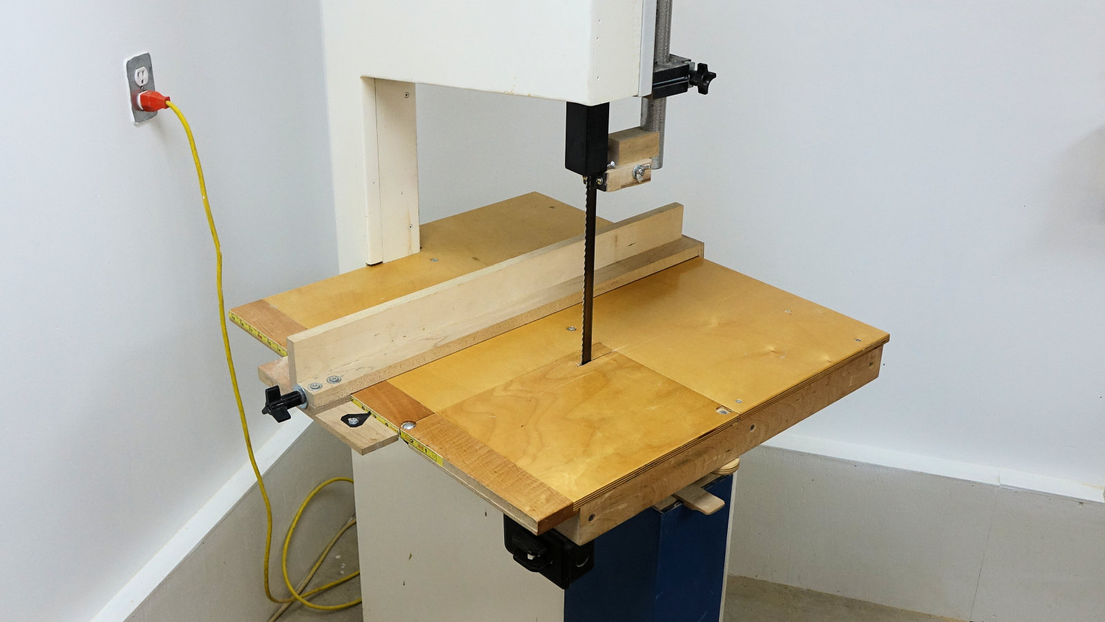 How To Make A Band Saw - IBUILDIT.CA Ideal Bandsaw Welder Wiring Diagram on