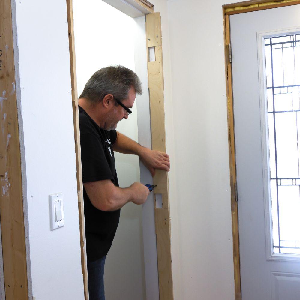 How To Install A Door Hang A Door Ibuildit Ca