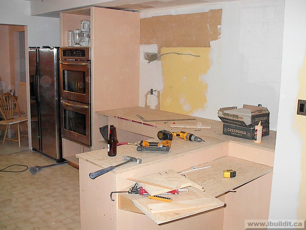 Kitchen Renovation Makeover Ibuildit Ca