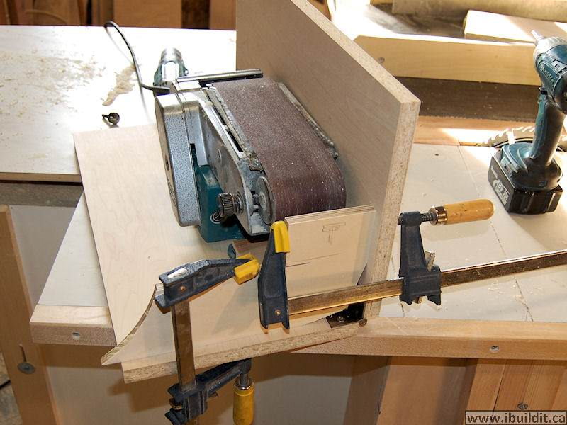 How To Make A Belt Sander Holder Ibuildit Ca