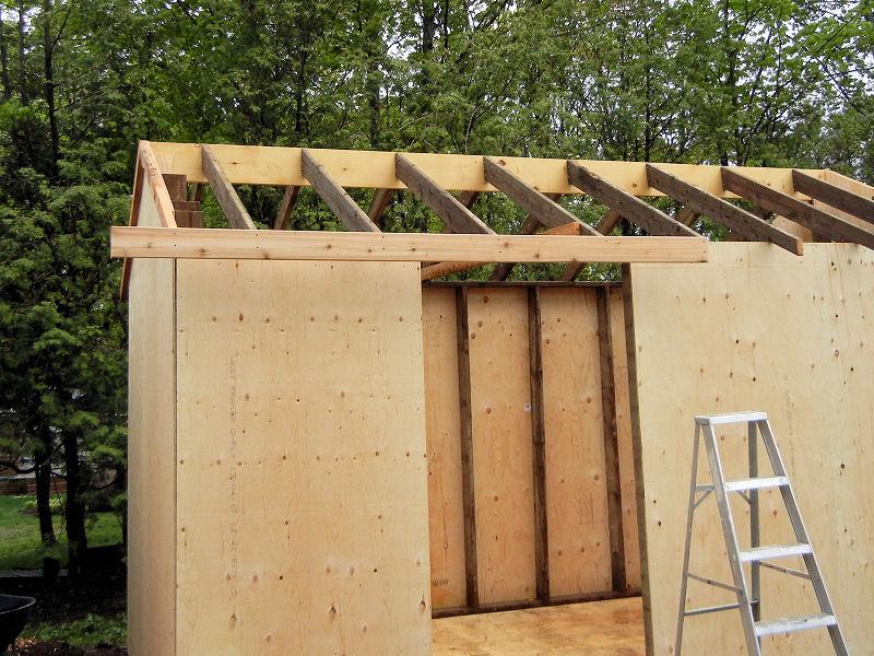 Building A Garden Shed Ibuildit Ca