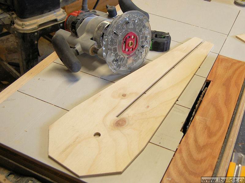 how to make a circle cutting jig for the router ibuildit ca