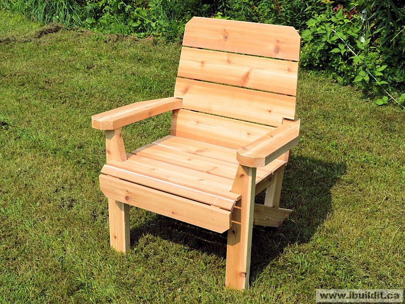 how to make a deck chair ibuildit ca