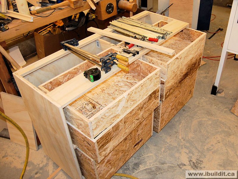 How to make a chest of drawers for the workbench ibuildit