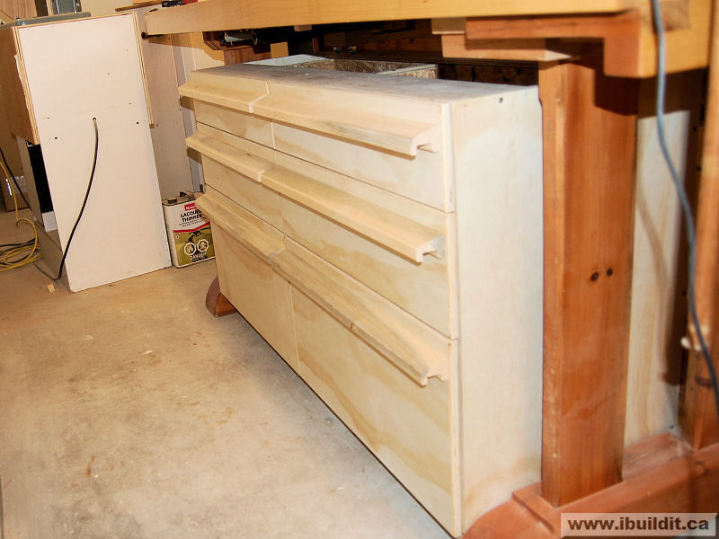 How To Make A Chest Of Drawers For The Workbench Ibuildit Ca