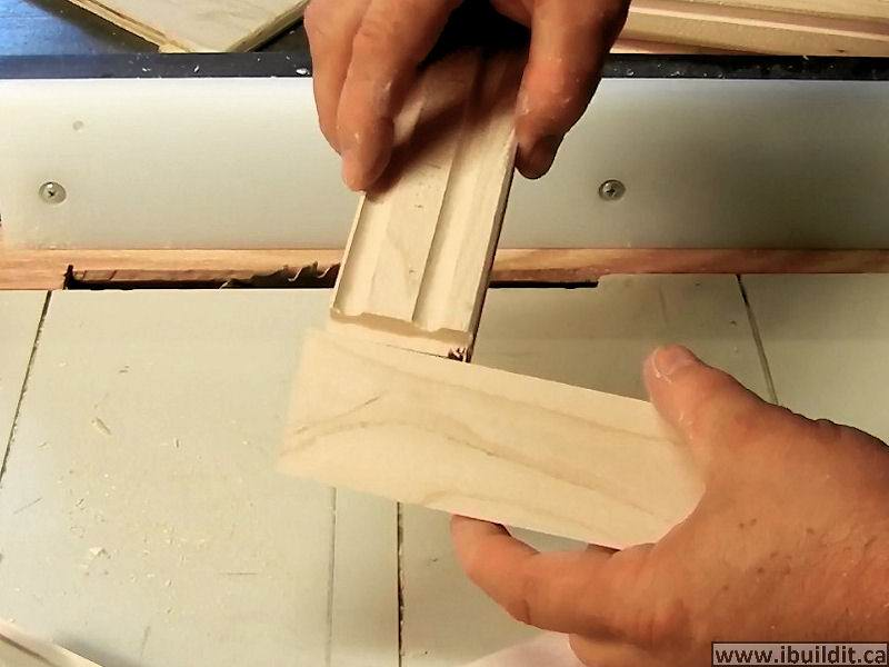 wooden c-clamp fit together