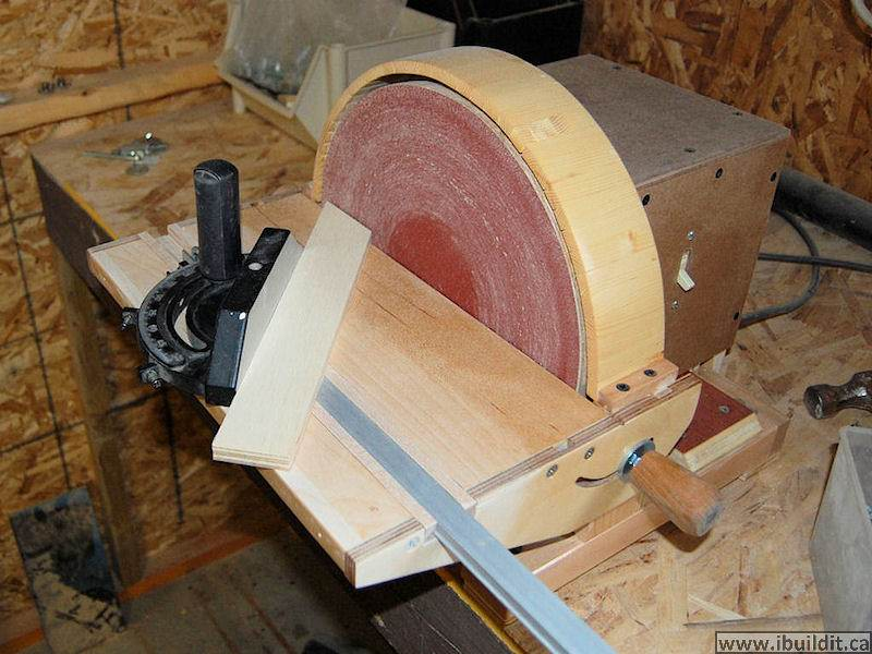 How To Make A Disk Sander Ibuildit Ca