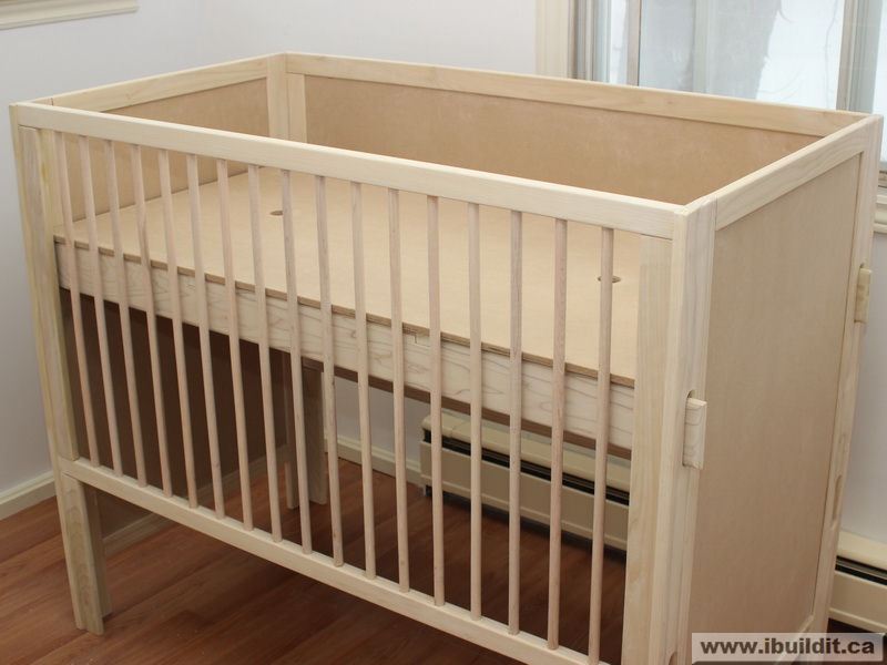 How To Make A Wooden Infant Crib