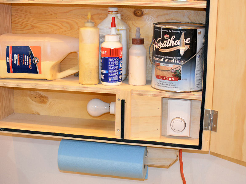 ... How To Make A Heated Storage Cabinet For Paint And Glue