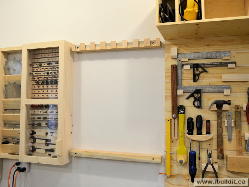 make a rack for your clamps