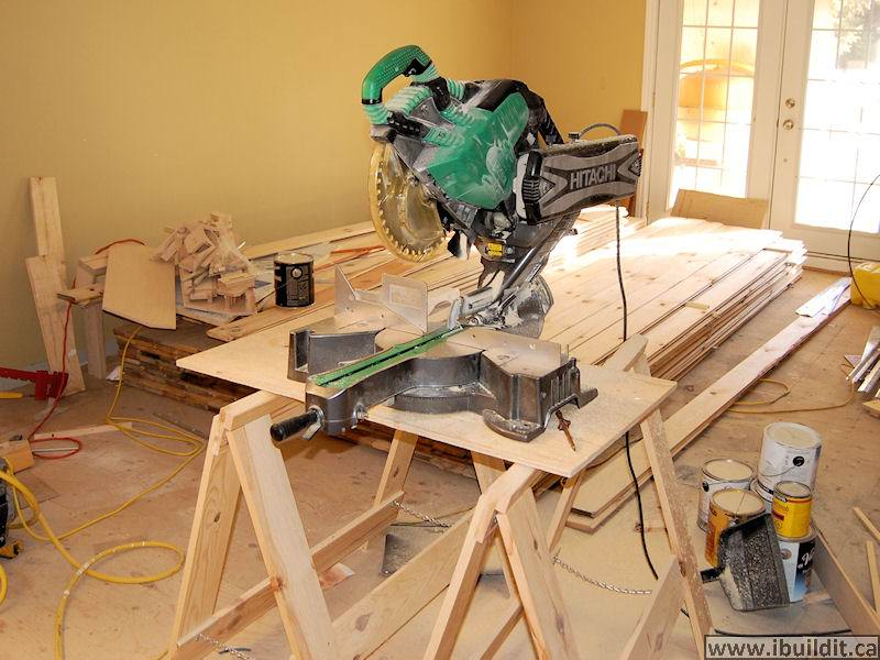 Laying A Pine Floor