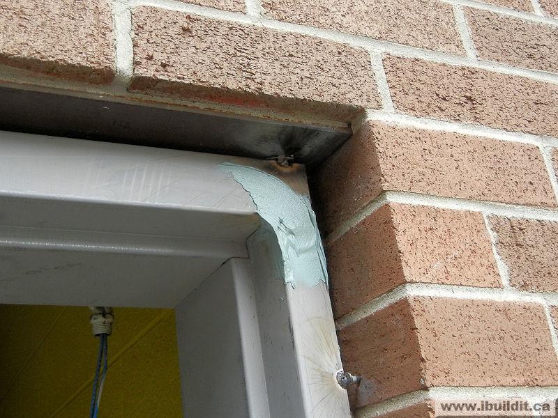 Installing A Metal Frame And Door Ibuildit