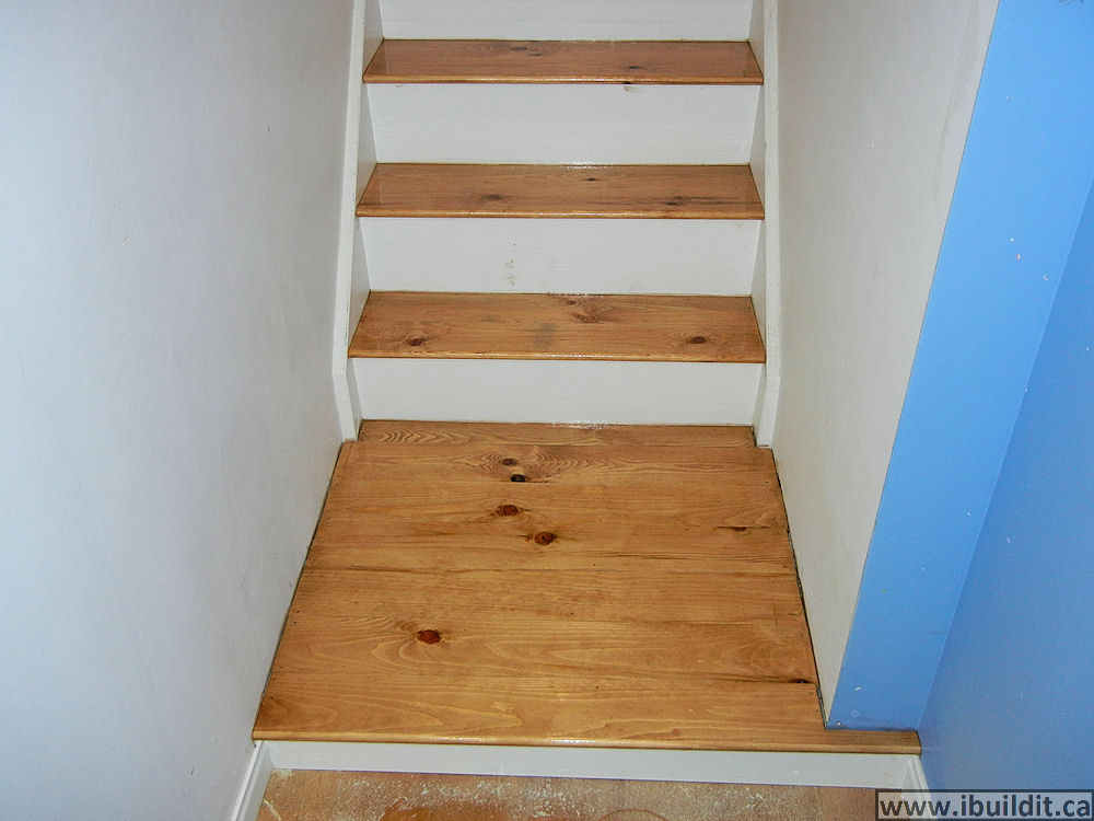 Basement Stair Landing Decorating: How To Cover Basement Stairs