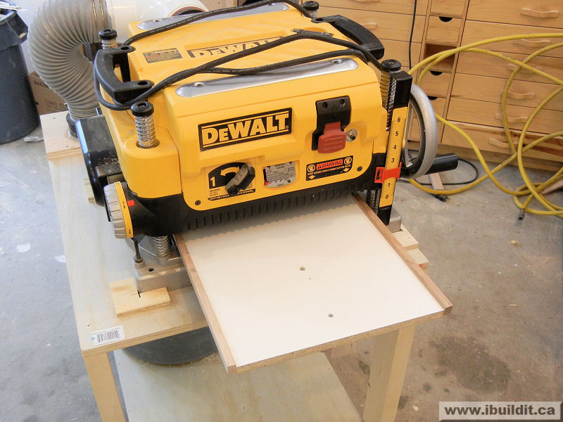How To Make A Planer Stand - IBUILDIT CA