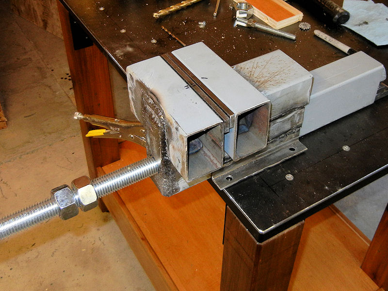 How to make a steel bench vise ibuildit