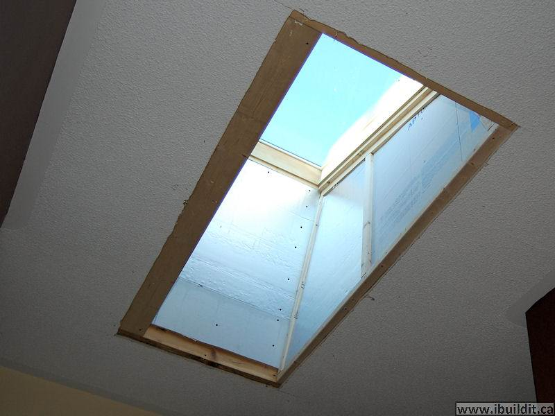 How To Intall A Skylight Ibuildit Ca