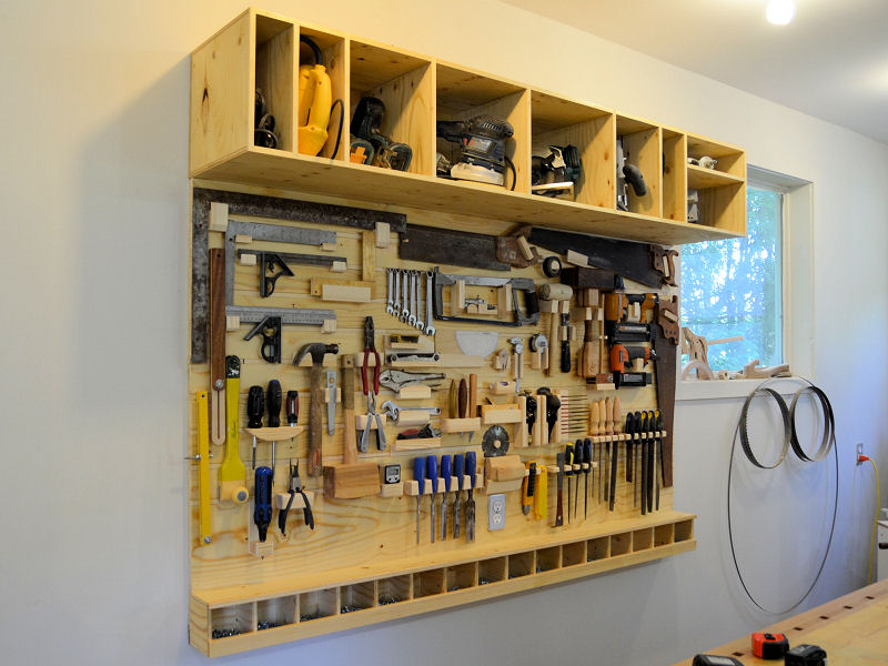 How To Make A Tool Board For The Shop Ibuildit Ca