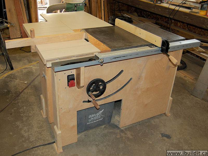 Genial How To Build A Table Saw