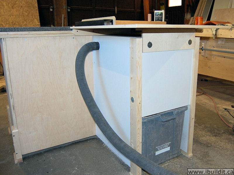 How To Make A Table Saw - IBUILDIT.CA Homemade Table Saw Plans Circular Html on