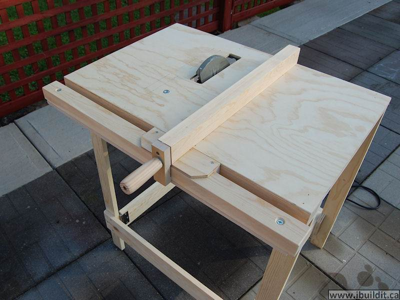 Making A Utility Table Saw Ibuildit Ca