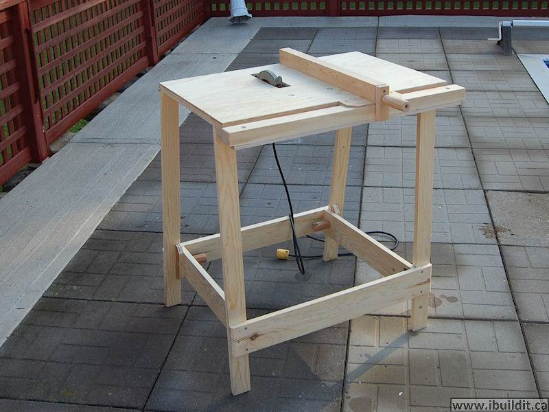 make a fence for a portable table saw