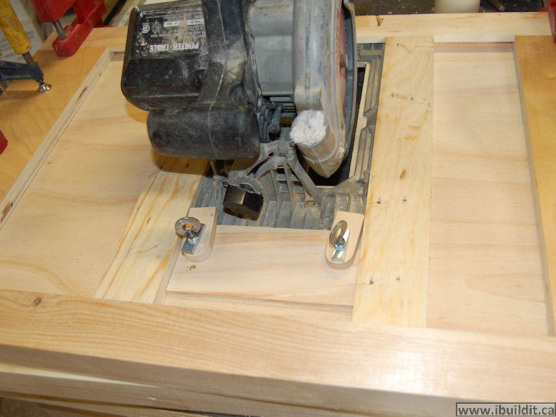 how to make a circular saw based portable table saw