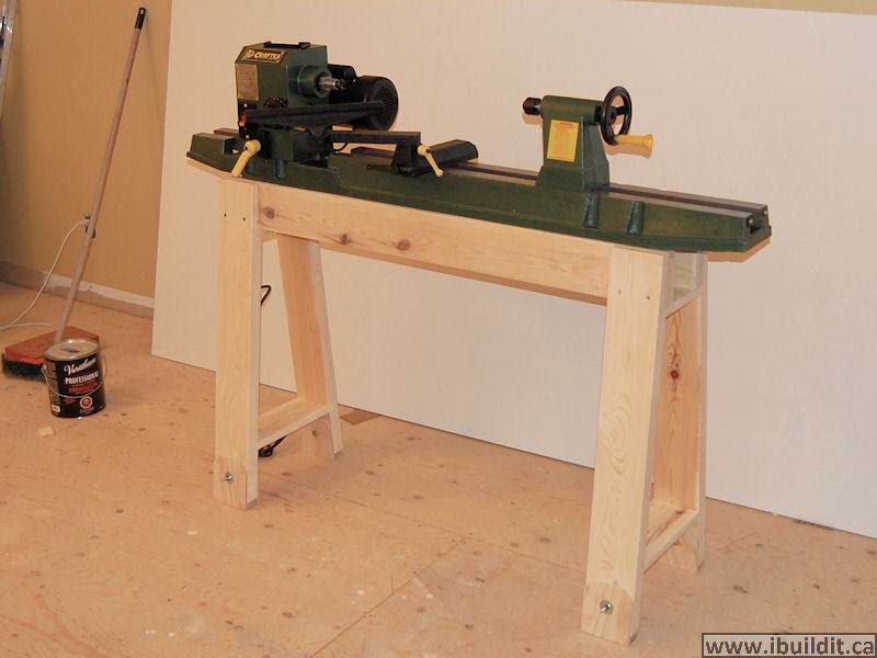 How To Make A Lathe Stand  Ibuilditca. Ikea Architect Desk. Do Not Disturb Desk Sign. Folding Camping Tables. What Does A Front Desk Agent Do At A Hotel. Decorating A Buffet Table. Antique Console Table. Diy Folding Desk. Rooms To Go Kids Desks
