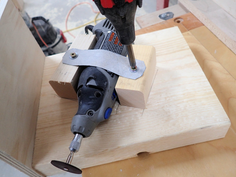 How to make a band saw blade sharpening jig ibuildit making a band saw blade sharpening jig keyboard keysfo Gallery