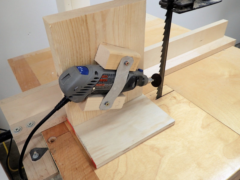 How to make a band saw blade sharpening jig ibuildit making a band saw blade sharpening jig greentooth Image collections