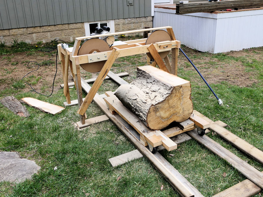 How To Make A Quick And Dirty Band Saw Mill - IBUILDIT CA