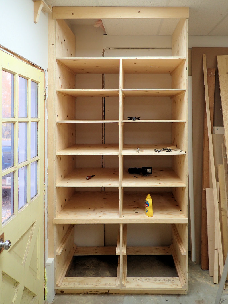 Attractive Making A Deep Shop Cabinet With Drawers