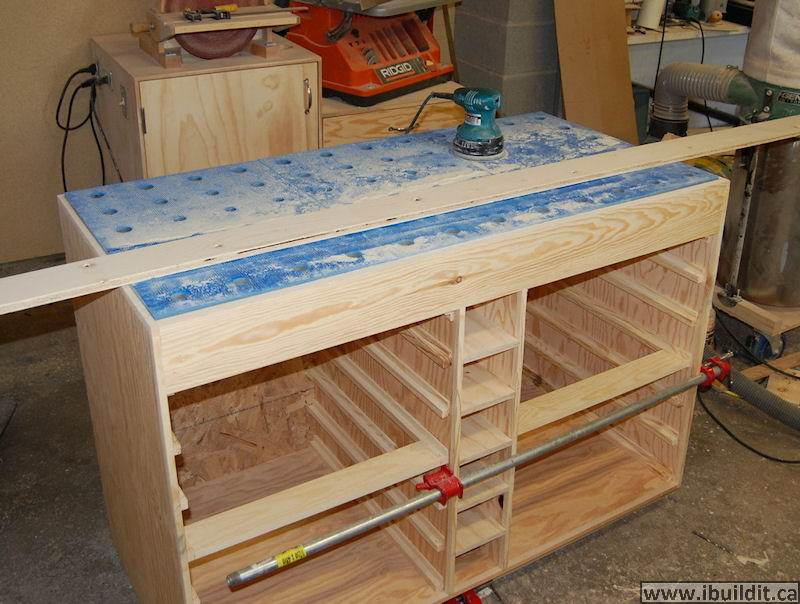 How To Make A Downdraft Sanding Table Ibuildit Ca
