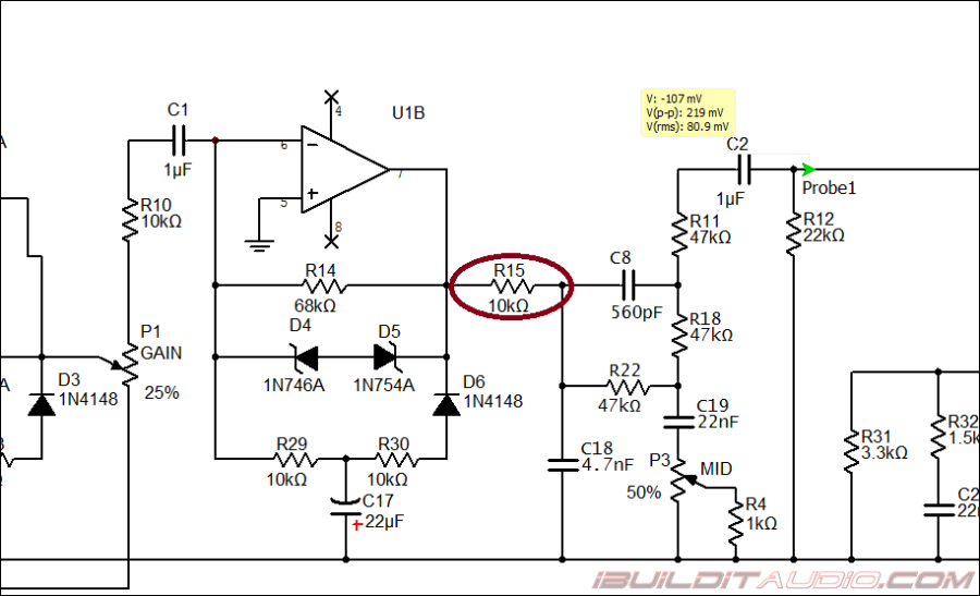design and build a guitar preamp