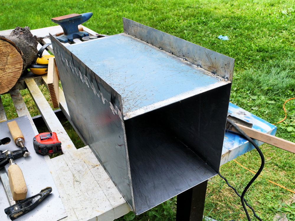 How to make a heat treatment oven