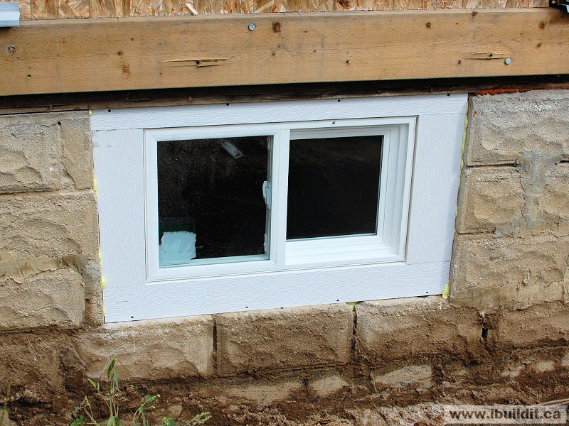 Replacing The Basement Windows My Old House Ibuildit Ca