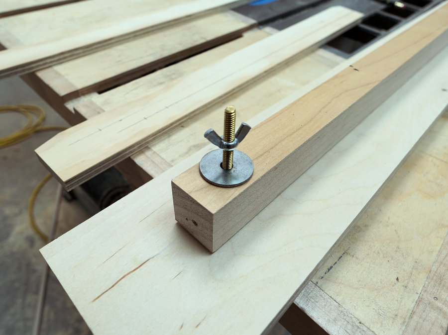 How to make a crosscut jig
