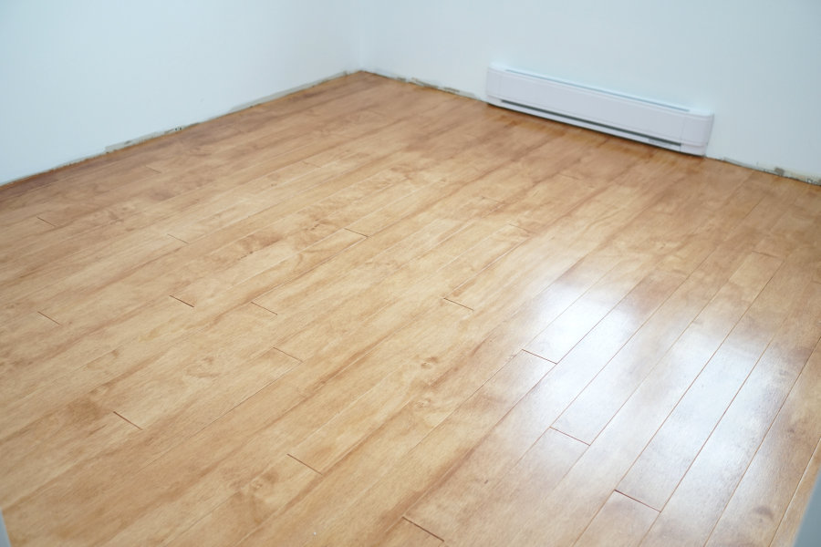 Finished Plywood Flooring ~ How to install and finish plywood flooring ibuildit
