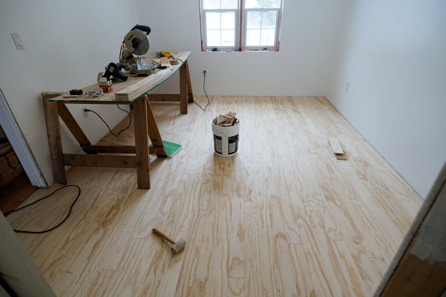 How To Install And Finish Plywood Flooring Ibuildit