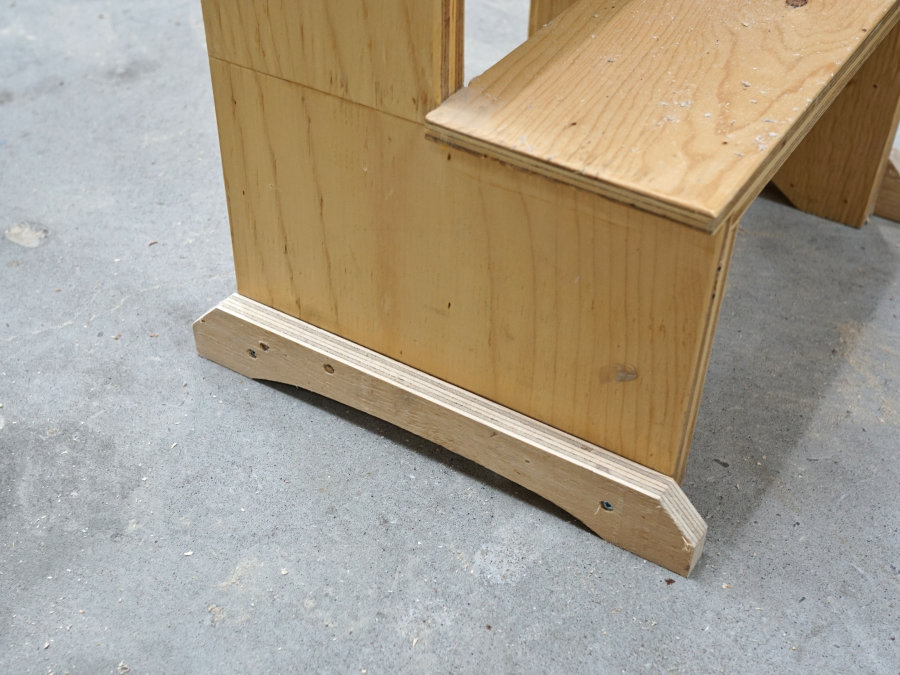 Fine How To Make A Step Stool From Plywood Ibuildit Ca Ncnpc Chair Design For Home Ncnpcorg