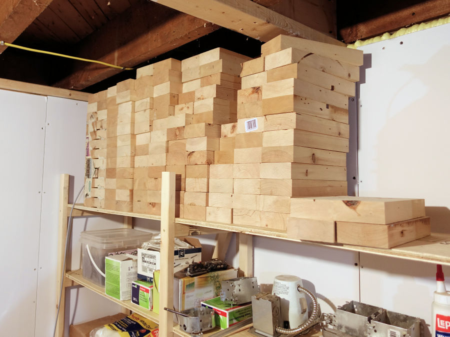 How To Make Cheap, Strong And Easy To Build Storage Shelves