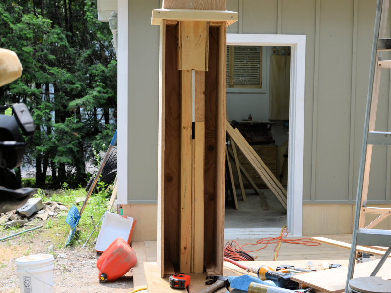 How To Make Craftsman Style Tapered Columns Ibuildit Ca
