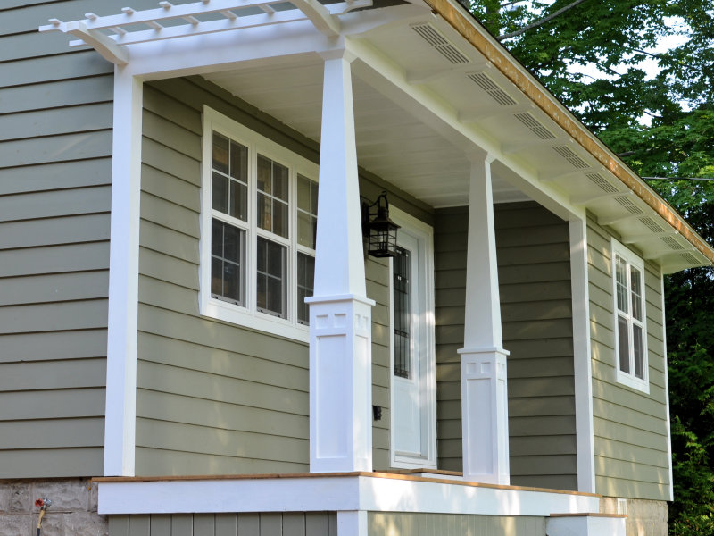 How To Make Craftsman Style Tapered Columns - IBUILDIT.CA