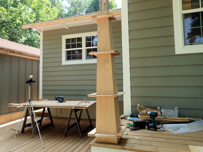 tapered craftsman columns