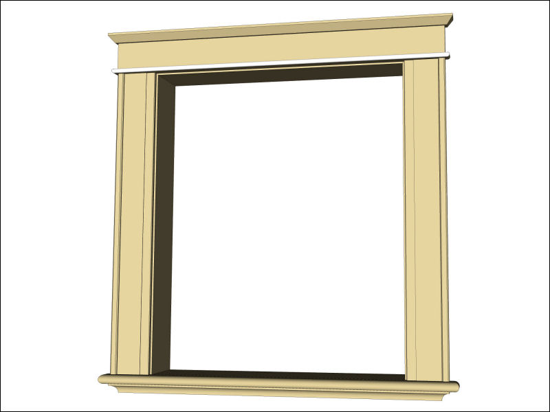 Making Window Trim - My Old House - IBUILDIT.CA