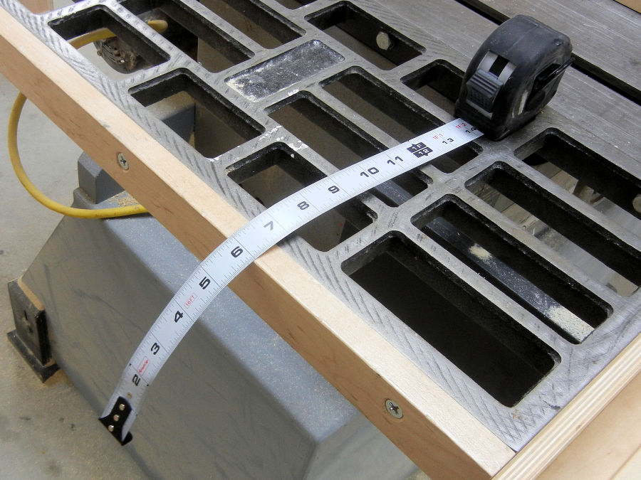 How To Make A Table Saw Fence - IBUILDIT CA