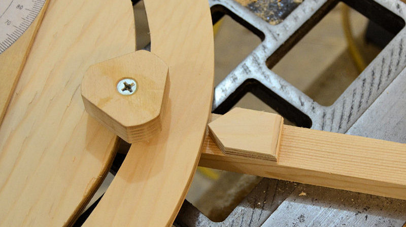 how to make an angle cutting guide